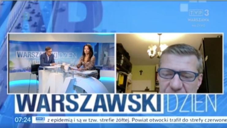 Sławomir Sokołowski - wywiad w Radiu Wnet, RDC i TVP3