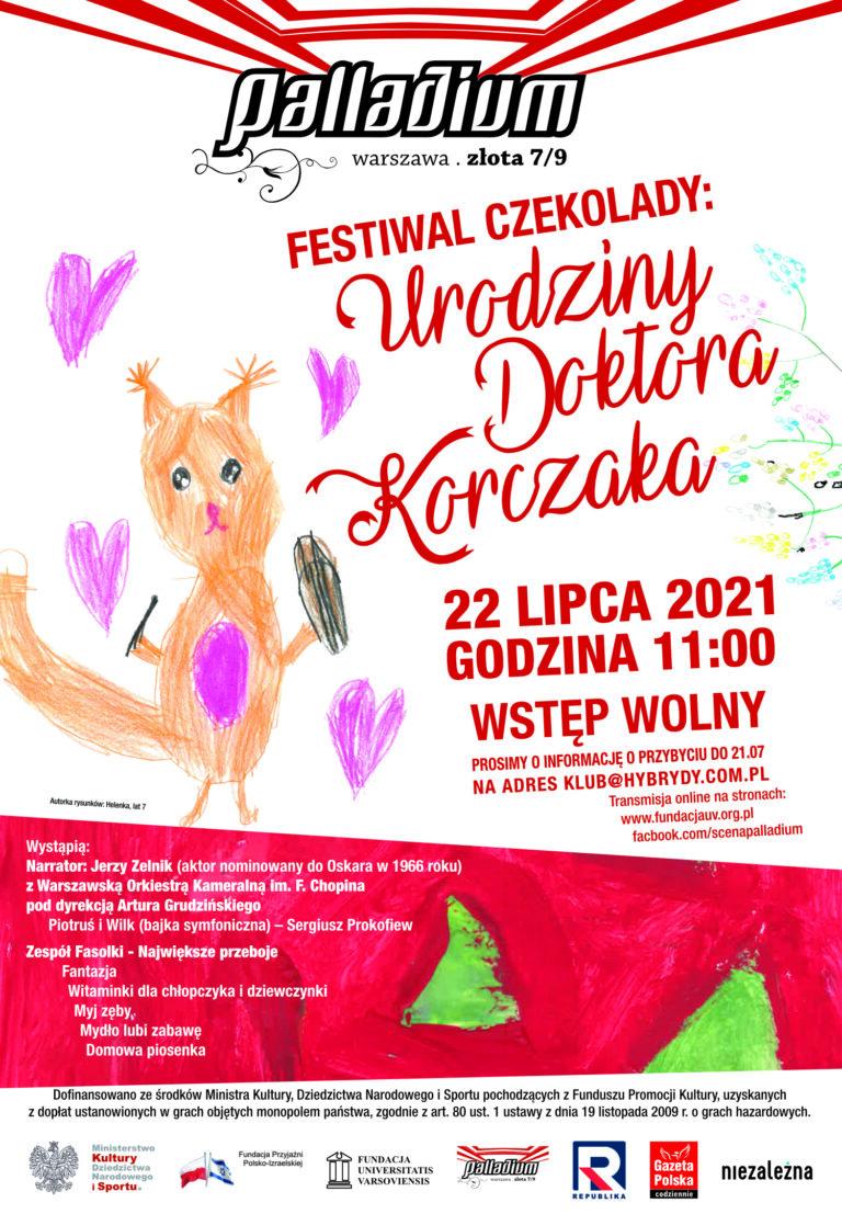 """Festiwal czekolady: """"Urodziny doktora Korczaka"""""""